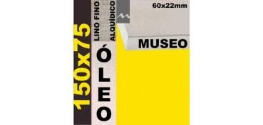 BASTIDOR MUSEO 60 X 22 LINO Nº1 (GRANO FINO) 150 X 75 (ÓLEO)