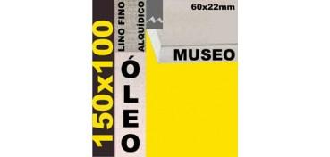 BASTIDOR MUSEO 60 X 22 LINO Nº1 (GRANO FINO) 150 X 100(ÓLEO)