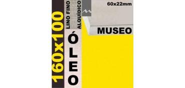 BASTIDOR MUSEO 60 X 22 LINO Nº1 (GRANO FINO) 160 X 100(ÓLEO)
