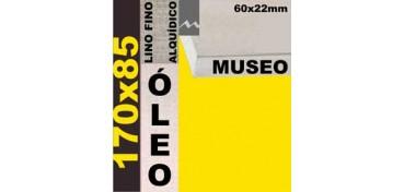 BASTIDOR MUSEO 60 X 22 LINO Nº1 (GRANO FINO) 170 X 85 (ÓLEO)