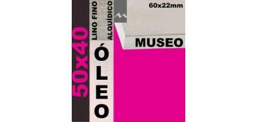 BASTIDOR MUSEO 60 X 22 LINO Nº1 (GRANO FINO) 50 X 40 (ÓLEO)