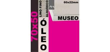 BASTIDOR MUSEO 60 X 22 LINO Nº1 (GRANO FINO) 70 X 50 (ÓLEO)
