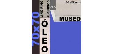 BASTIDOR MUSEO 60 X 22 LINO Nº1 (GRANO FINO) 70 X 70 (ÓLEO)