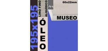 BASTIDOR MUSEO 60 X 22 LINO Nº1 (GRANO FINO) 195 X 195(ÓLEO)