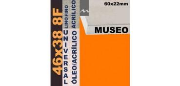 BASTIDOR MUSEO 60 X 22 LINO Nº1 (GRANO FINO) 46 X 38 8F (ÓLEO/ACRÍLICO)