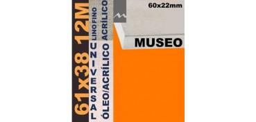 BASTIDOR MUSEO 60 X 22 LINO Nº1 (GRANO FINO) 61 X 38 12M (ÓLEO/ACRÍLICO)