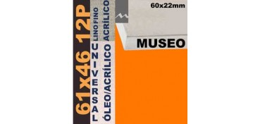 BASTIDOR MUSEO 60 X 22 LINO Nº1 (GRANO FINO) 61 X 46 12P (ÓLEO/ACRÍLICO)