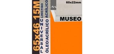 BASTIDOR MUSEO 60 X 22 LINO Nº1 (GRANO FINO) 65 X 46 15M (ÓLEO/ACRÍLICO)