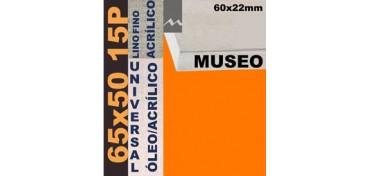 BASTIDOR MUSEO 60 X 22 LINO Nº1 (GRANO FINO) 65 X 50 15P (ÓLEO/ACRÍLICO)