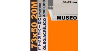 BASTIDOR MUSEO 60 X 22 LINO Nº1 (GRANO FINO) 73 X 50 20M (ÓLEO/ACRÍLICO)