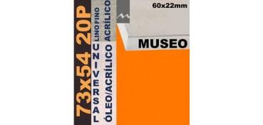BASTIDOR MUSEO 60 X 22 LINO Nº1 (GRANO FINO) 73 X 54 20P (ÓLEO/ACRÍLICO)