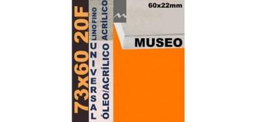 BASTIDOR MUSEO 60 X 22 LINO Nº1 (GRANO FINO) 73 X 60 20F (ÓLEO/ACRÍLICO)