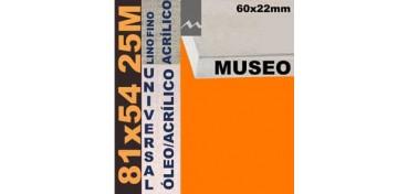 BASTIDOR MUSEO 60 X 22 LINO Nº1 (GRANO FINO) 81 X 54 25M (ÓLEO/ACRÍLICO)
