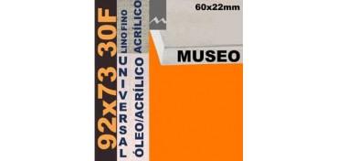 BASTIDOR MUSEO 60 X 22 LINO Nº1 (GRANO FINO) 92 X 73 30F (ÓLEO/ACRÍLICO)