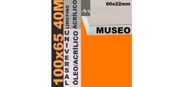 BASTIDOR MUSEO 60 X 22 LINO Nº1 (GRANO FINO) 100 X 65 40M (ÓLEO/ACRÍLICO)