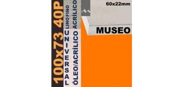 BASTIDOR MUSEO 60 X 22 LINO Nº1 (GRANO FINO) 100 X 73 40P (ÓLEO/ACRÍLICO)