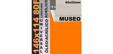 BASTIDOR MUSEO 60 X 22 LINO Nº1 (GRANO FINO) 146 X 114 80F (ÓLEO/ACRÍLICO)