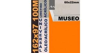 BASTIDOR MUSEO 60 X 22 LINO Nº1 (GRANO FINO) 162 X 97 100M (ÓLEO/ACRÍLICO)