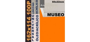 BASTIDOR MUSEO 60 X 22 LINO Nº1 (GRANO FINO) 162 X 114 100P (ÓLEO/ACRÍLICO)