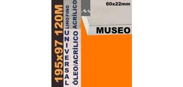 BASTIDOR MUSEO 60 X 22 LINO Nº1 (GRANO FINO) 195 X 97 120M (ÓLEO/ACRÍLICO)