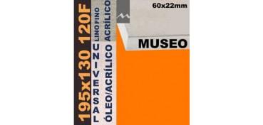 BASTIDOR MUSEO 60 X 22 LINO Nº1 (GRANO FINO) 195 X 130 120F (ÓLEO/ACRÍLICO)