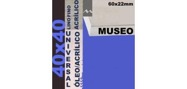BASTIDOR MUSEO 60 X 22 LINO Nº1 (GRANO FINO) 40 X 40 (ÓLEO/ACRÍLICO)