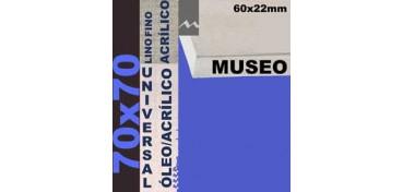 BASTIDOR MUSEO 60 X 22 LINO Nº1 (GRANO FINO) 70 X 70 (ÓLEO/ACRÍLICO)