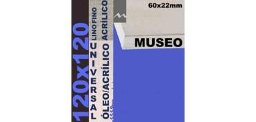 BASTIDOR MUSEO 60 X 22 LINO Nº1 (GRANO FINO) 120 X 120 (ÓLEO/ACRÍLICO)