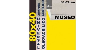 BASTIDOR MUSEO 60 X 22 LINO Nº1 (GRANO FINO) 80 X 40 (ÓLEO/ACRÍLICO)