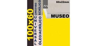 BASTIDOR MUSEO 60 X 22 LINO Nº1 (GRANO FINO) 100 X 60 (ÓLEO/ACRÍLICO)