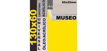 BASTIDOR MUSEO 60 X 22 LINO Nº1 (GRANO FINO) 130 X 60 (ÓLEO/ACRÍLICO)