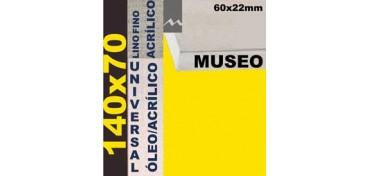 BASTIDOR MUSEO 60 X 22 LINO Nº1 (GRANO FINO) 140 X 70 (ÓLEO/ACRÍLICO)