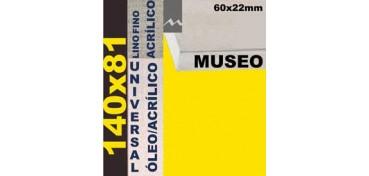 BASTIDOR MUSEO 60 X 22 LINO Nº1 (GRANO FINO) 140 X 81 (ÓLEO/ACRÍLICO)