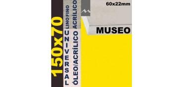 BASTIDOR MUSEO 60 X 22 LINO Nº1 (GRANO FINO) 150 X 70 (ÓLEO/ACRÍLICO)