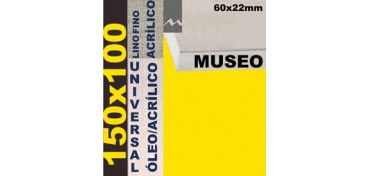 BASTIDOR MUSEO 60 X 22 LINO Nº1 (GRANO FINO) 150 X 100 (ÓLEO/ACRÍLICO)