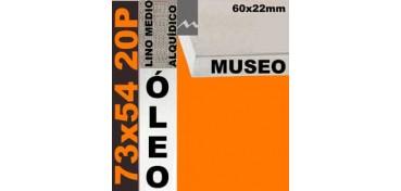 BASTIDOR MUSEO 60 X 22 LINO Nº3 (GRANO MEDIO) 73 X 54 20P (ÓLEO)