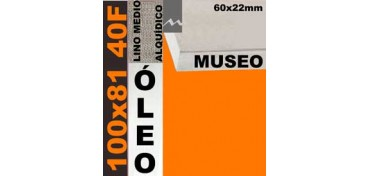 BASTIDOR MUSEO 60 X 22 LINO Nº3 (GRANO MEDIO) 100 X 81 40F (ÓLEO)