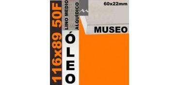 BASTIDOR MUSEO 60 X 22 LINO Nº3 (GRANO MEDIO) 116 X 89 50F (ÓLEO)