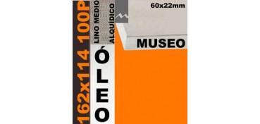 BASTIDOR MUSEO 60 X 22 LINO Nº3 (GRANO MEDIO) 162 X 114 100P (ÓLEO)