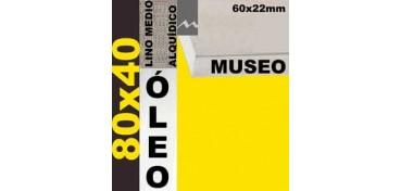 BASTIDOR MUSEO 60 X 22 LINO Nº3 (GRANO MEDIO) 80 X 40 (ÓLEO)
