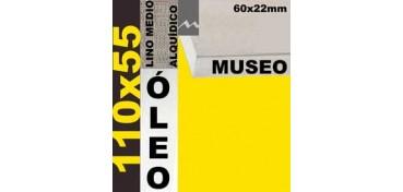 BASTIDOR MUSEO 60 X 22 LINO Nº3 (GRANO MEDIO) 110 X 55 (ÓLEO)