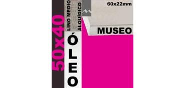 BASTIDOR MUSEO 60 X 22 LINO Nº3 (GRANO MEDIO) 50 X 40 (ÓLEO)