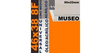 BASTIDOR MUSEO 60 X 22 LINO Nº3 (GRANO MEDIO) 46 X 38 8F (ÓLEO/ACRÍLICO)