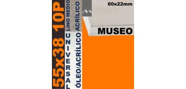 BASTIDOR MUSEO 60 X 22 LINO Nº3 (GRANO MEDIO) 55 X 38 10P (ÓLEO/ACRÍLICO)
