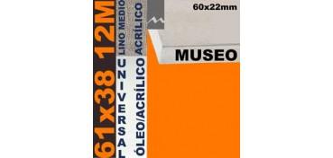 BASTIDOR MUSEO 60 X 22 LINO Nº3 (GRANO MEDIO) 61 X 38 12M (ÓLEO/ACRÍLICO)