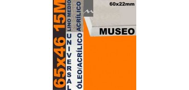 BASTIDOR MUSEO 60 X 22 LINO Nº3 (GRANO MEDIO) 65 X 46 15M (ÓLEO/ACRÍLICO)