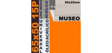 BASTIDOR MUSEO 60 X 22 LINO Nº3 (GRANO MEDIO) 65 X 50 15P (ÓLEO/ACRÍLICO)