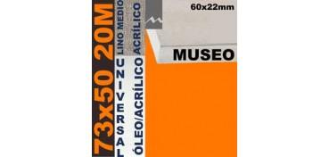 BASTIDOR MUSEO 60 X 22 LINO Nº3 (GRANO MEDIO) 73 X 50 20M (ÓLEO/ACRÍLICO)