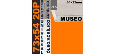 BASTIDOR MUSEO 60 X 22 LINO Nº3 (GRANO MEDIO) 73 X 54 20P (ÓLEO/ACRÍLICO)