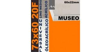 BASTIDOR MUSEO 60 X 22 LINO Nº3 (GRANO MEDIO) 73 X 60 20F (ÓLEO/ACRÍLICO)